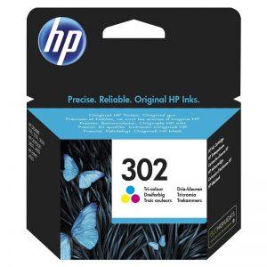 HP 302 tri color