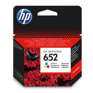 HP 652 tri color