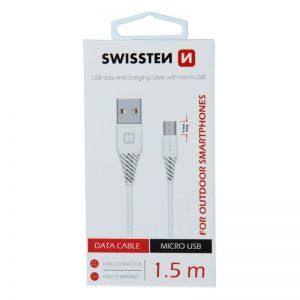 Swissten 1.5m micro usb 9mm for outdoor