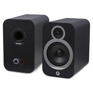 Q Acoustics 3030i carbon black (1)