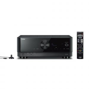 AV receiver YAMAHA RX-V4A crni