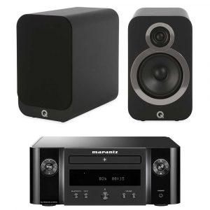 Marantz m-cr412 black + q acoustics 3020i black