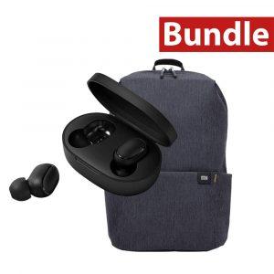mi bundle tws basic + casual daypack